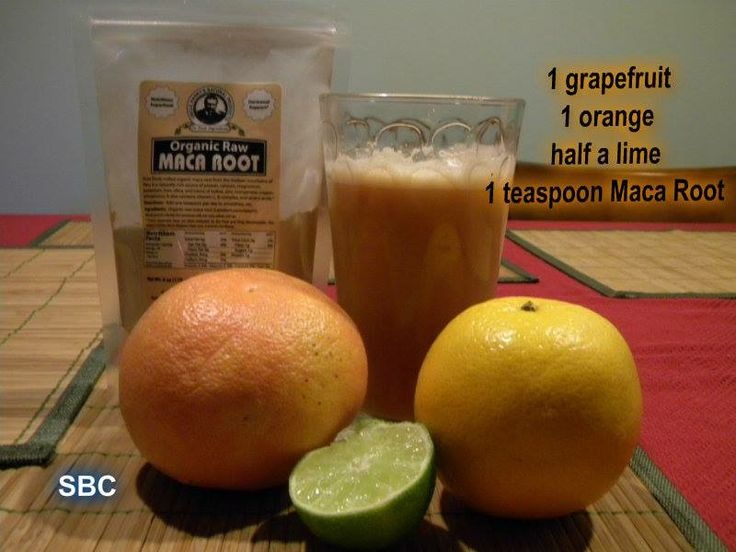 """Citrus Blast~~Maca is used for """"tired blood"""" (anemia ..."""