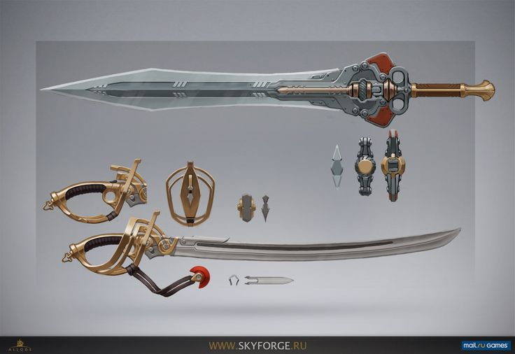 how to make a skyforge weapon