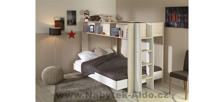Moderní patrová postel