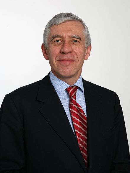John Whitaker Straw (born 3 August 1946) is an English politician who served as the Member of Parliament (MP) for Blackburn from 1979 to 2015. Straw served in the Cabinet from 1997 to 2010 under the governments of Tony Blair and Gordon Brown. He held two of the traditional Great Offices of State, as Home Secretary from 1997 to 2001 and Foreign Secretary from 2001 to 2006 under Blair. From 2007 to 2010 he served as Lord Chancellor and the Secretary of State for Justice throughout Brown's…