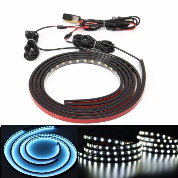 [US$26.99 ~ 27.99] 60inch Truck Bed Rail LED Lights Kit LED RV Awning RoofLights On/Off Switch For Pickup Truck RV SUV  #60inch #awning #lights #onoff #pickup #rail #rooflights #switch #truck