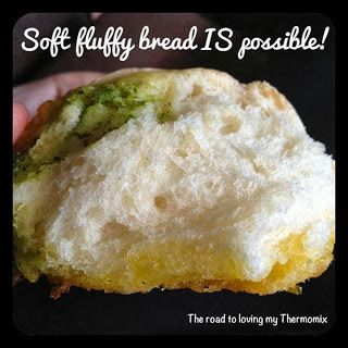 Soft bread in the Thermomix is possible!