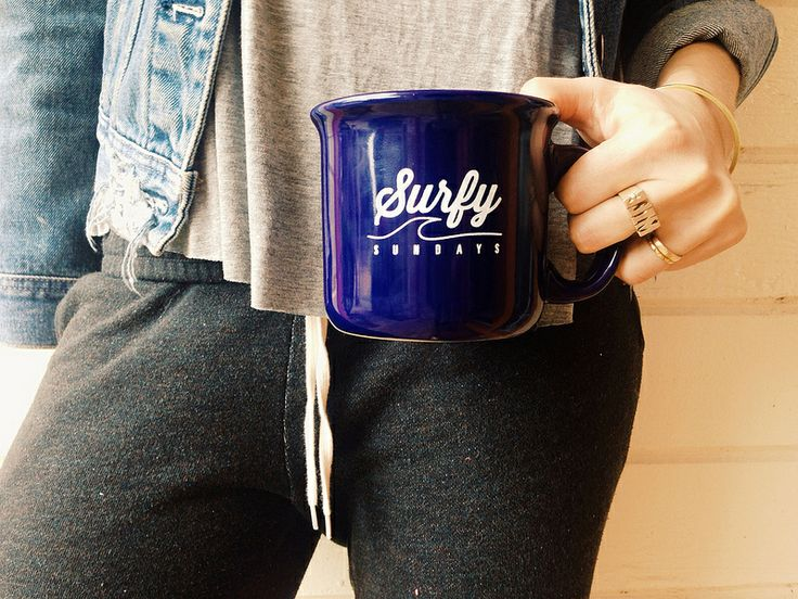 Our First Bueno Bueno Collectors Mug /// Surfy Sundays now available for purchase!