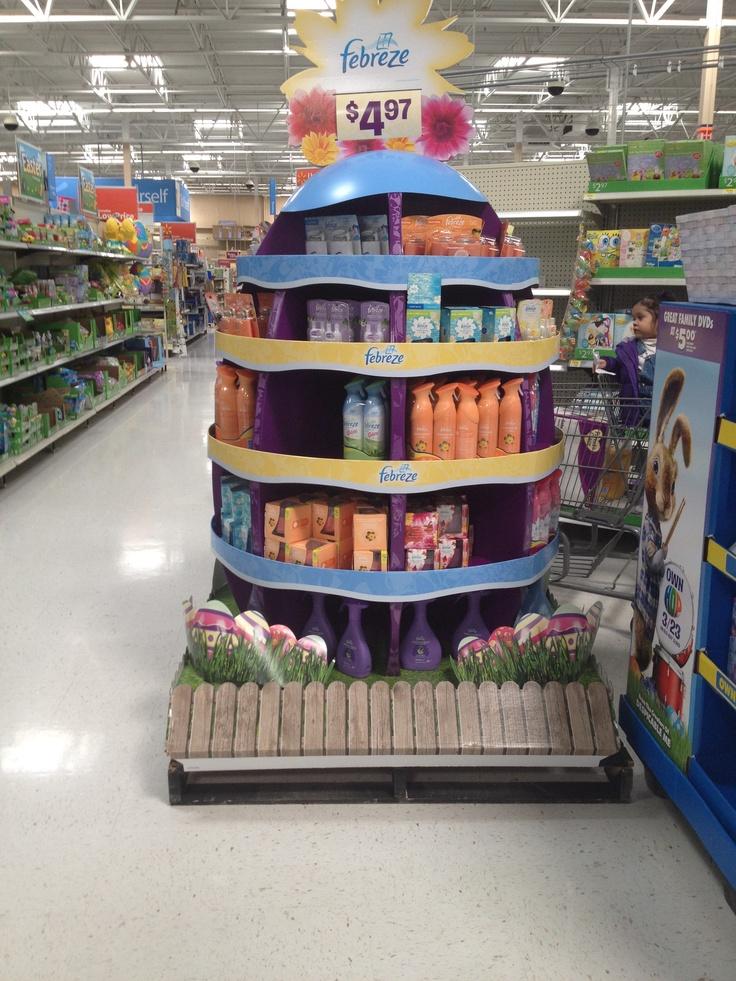 Febreze display at Walmart