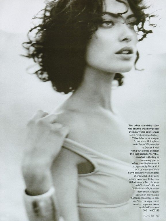 ☆ Shalom Harlow | Photography by Mario Testino | For Vogue Magazine UK | January 1996 ☆ #shalomharlow #mariotestino #vogue #1996