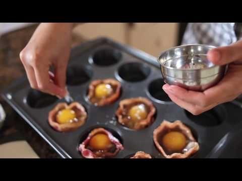▶ Bacon Wrapped Eggs - YouTube