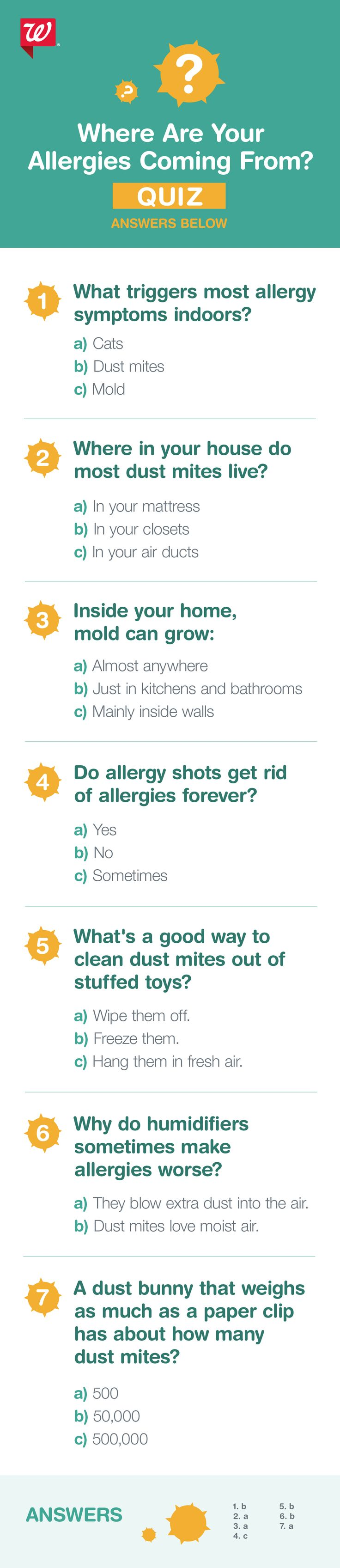 Do you know your allergy culprit? Take this quiz to find out.