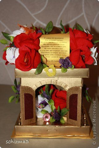 Свит-дизайн День рождения Моделирование конструирование камин Бумага гофрированная фото 1
