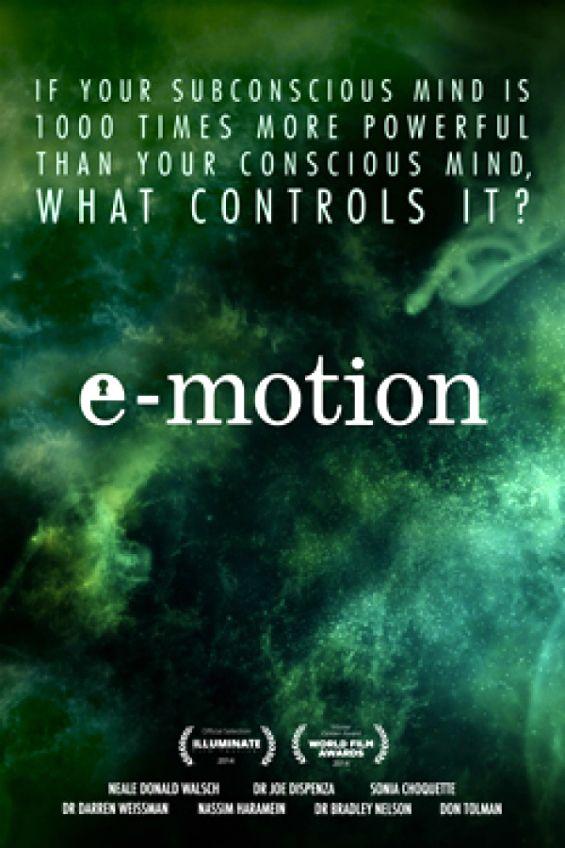 """""""E-motie"""" este un documentar care exploreaza modul in care emotiile afecteaza fiziologia corpului uman, cum din moment ce emotiile negative sunt inlocuite cu unele pozitive apar schimbari in corpul uman si in mediul in care traim. O echipa de experti din intreaga lume vor impartasii din cunoasterea si intelepciunea lor pentru a ne arata metode de a elimina emotiile negative, pentru a arata omenirii calea spre sanatate si iluminare. Sursa: fymaaa"""