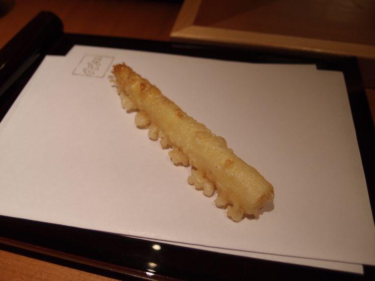 White asparagus @Tenshichi, 2014/4