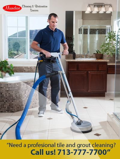 Need a professional tile and grout cleaning? Call to Mundae Services 713-777-7700 http://www.mundae.com/our-services/tile-grout-cleaning