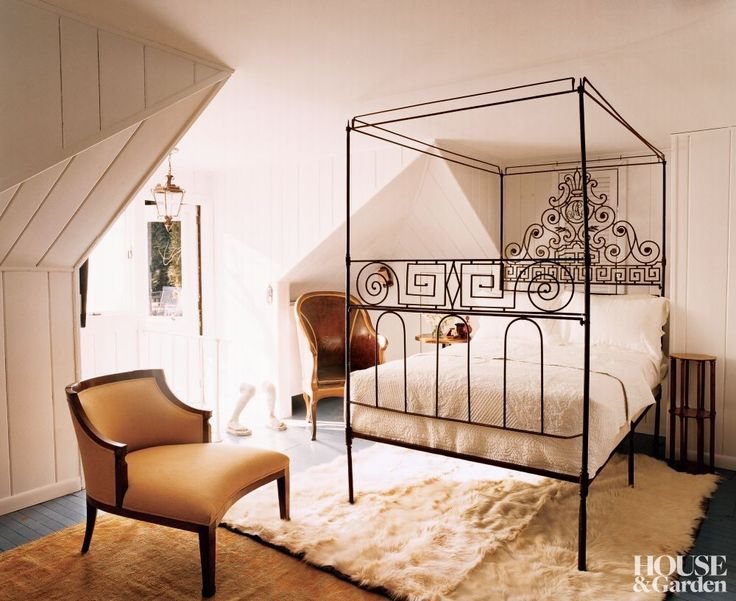 Traditional Bedroom in Hamptons, New York