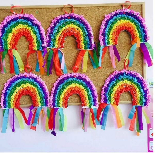 Featured 5 Spring Projects: 19 Best Rainbow Craft Idea For Spring Season Images On