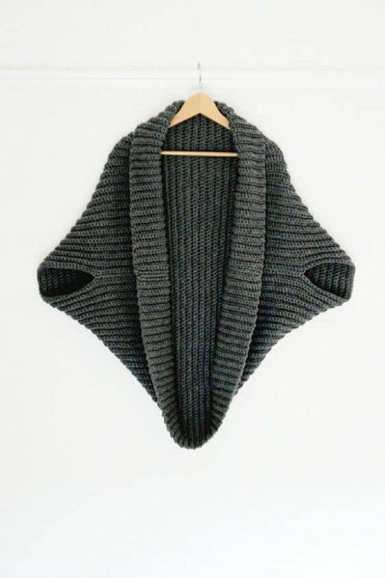Crochet Cocoon Shrug Pattern Ideas Rg Pinterest Free Pattern