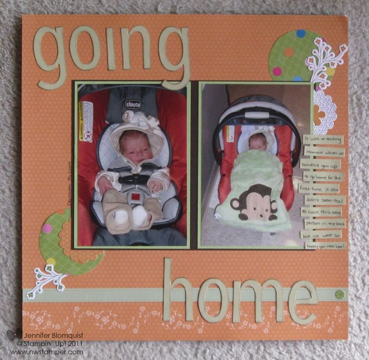 Using Ice Cream Parlor Quick Accents for Scrapbooking | Northwest Stamper
