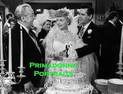 Good Lucille Ball Desi Arnaz X Photo S Wedding Cake Movie Still Portrait With Dress