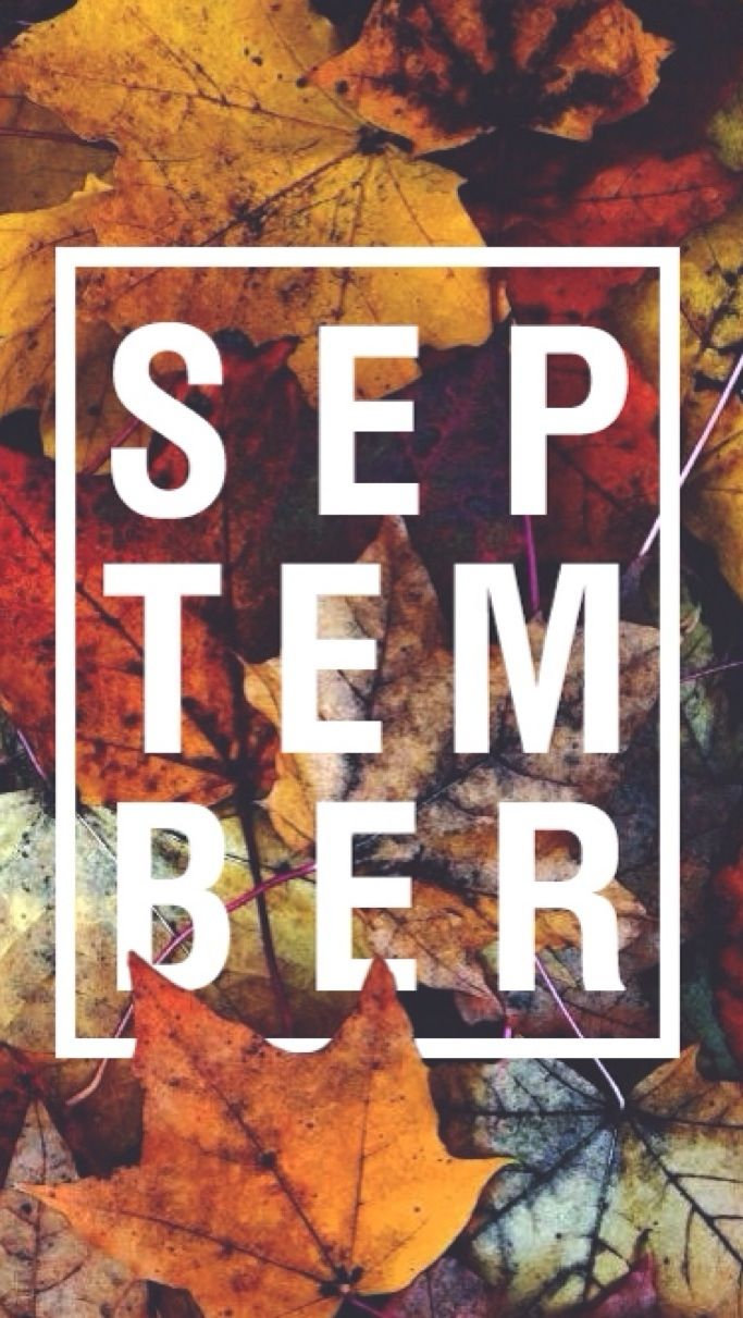 September phone wallpaper background