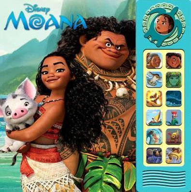Based on the Disney® feature film Moana (Release date: November 23rd, 2016), Children can play a song and follow along the story by pressing sound buttons...