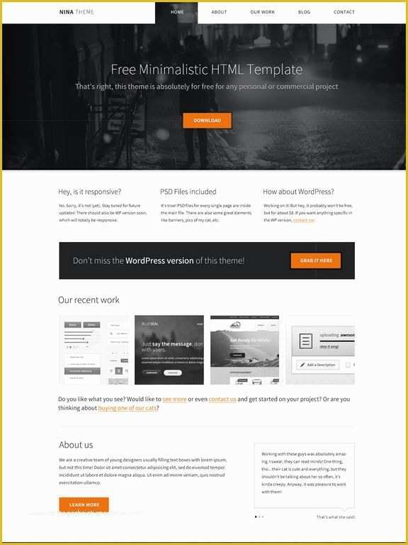 Free Html Css Templates Of Download 50 Free Css Html Business Website Templates In 2020 Business Website Templates Css Website Templates Css Templates