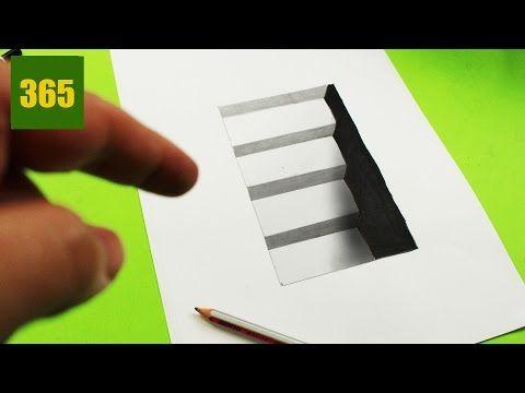 plus de 25 id es uniques dans la cat gorie dessin 3d facile sur pinterest facile dessiner. Black Bedroom Furniture Sets. Home Design Ideas