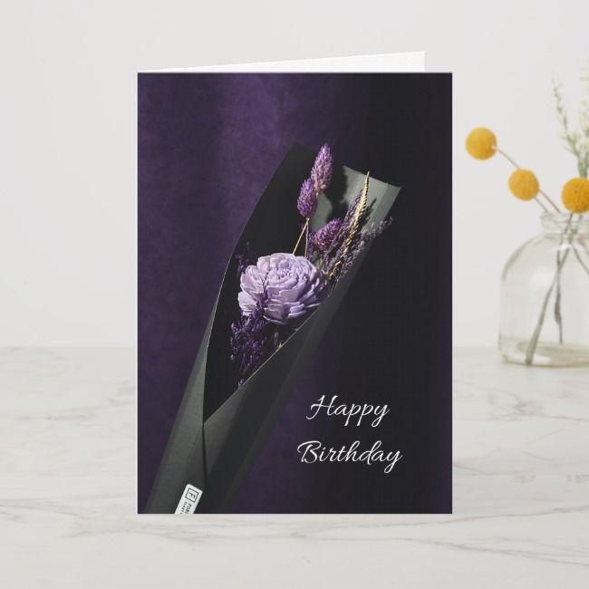 Birthday Card In Lila Affiliate Lila Created Card Shop Ad Birthday Cards Birthday Cards For Her Birthday