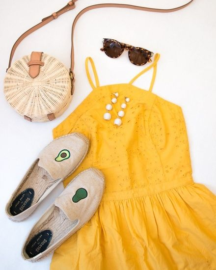Yellow Abercrombie Dress