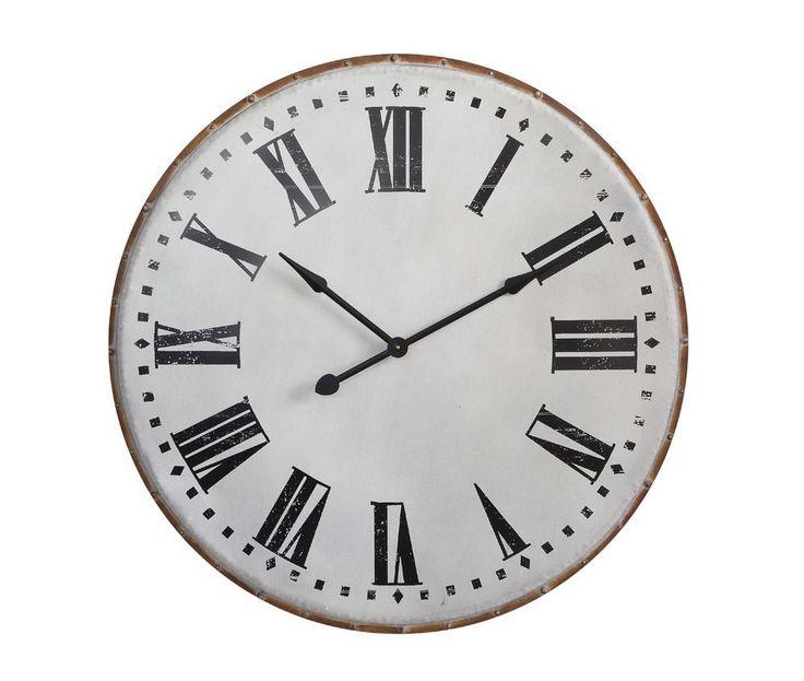 Large Metal Clock – Zassy's Treasures & Design