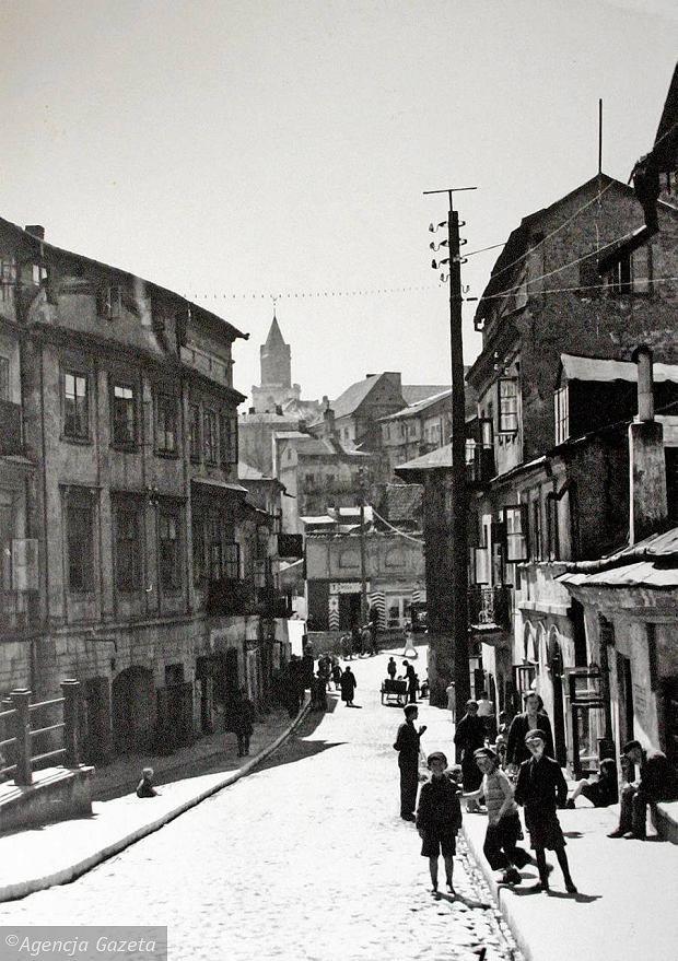 Zamkowa Street, Lublin photo: Wiktor Ziółkowski 1929