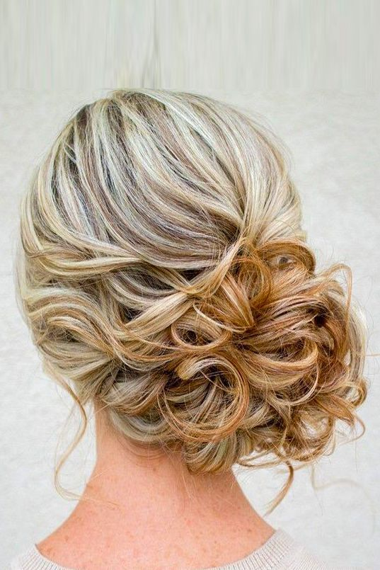 Gorgeous Wedding Bun Hairstyles ❤ See more: http://www.weddingforward.com/wedding-bun-hairstyles/ #weddings