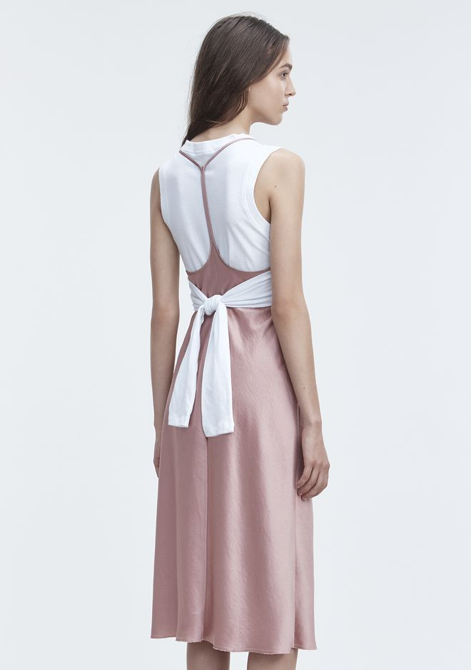 T By Alexander Wash Go Slip Dress 3 4 Length 12 N E