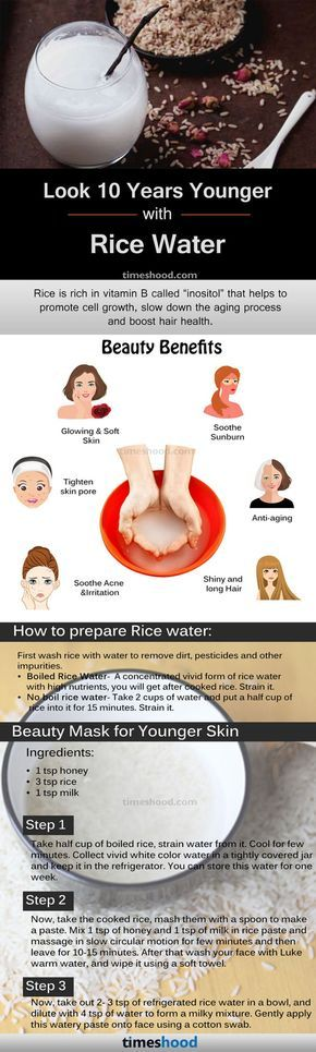 Rice water benefits & How to Prepare for skin and hair, Rice Water for skin care and hair growth.