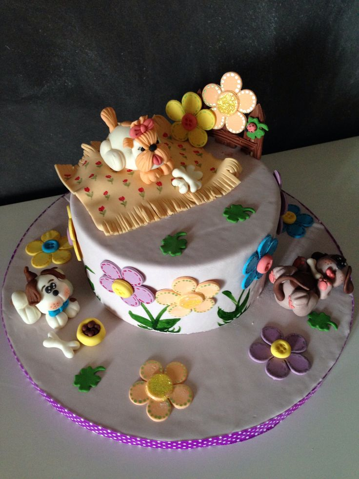 Little puppy dog cake