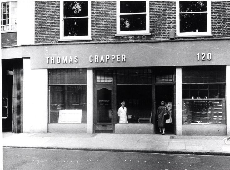 120 Kings Road - Thomas Crapper shop - 1966 The inventor of the modern toilet?