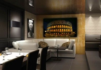 led hinterleuchtete wandbilder modell kolosseum led leuchtbilder pinterest led. Black Bedroom Furniture Sets. Home Design Ideas