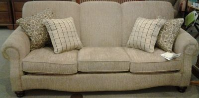 Beautiful creme-colored sofa from Stacy Furniture at Cooley's Furniture in Mifflinburg