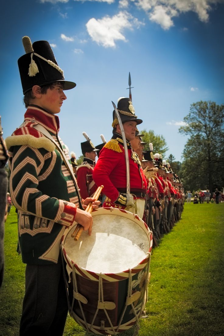 Drummer- The 49th (Hertfordshire) Regiment of Foot- in the Canadas- 1802-1815