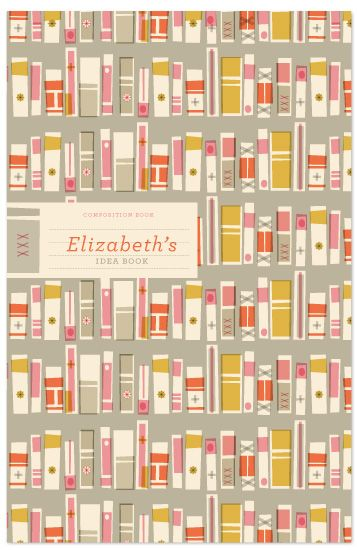 books illustration notebook cover.