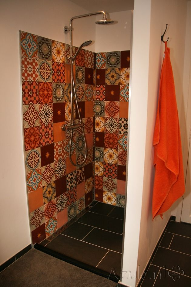 Tile: Patchwork bonte mix | Designtegels.nl Designtegels.nl