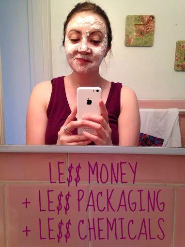 Finding delight: Baking Soda Face Mask #DIY
