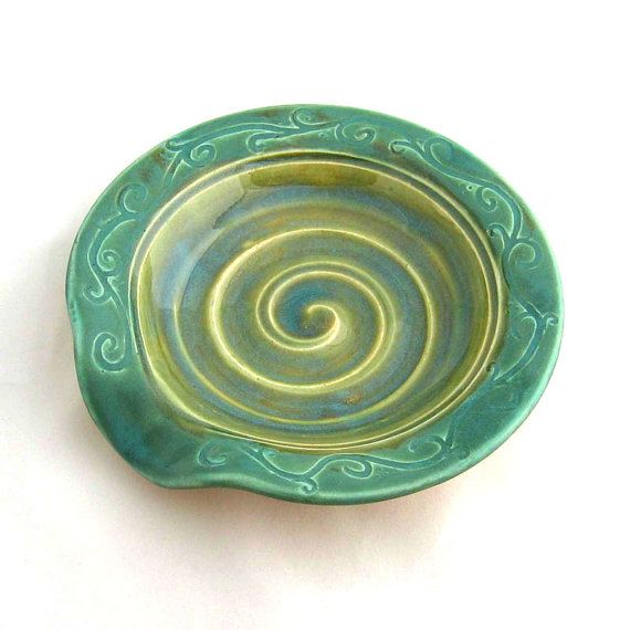 Hey, I found this really awesome Etsy listing at https://www.etsy.com/listing/197551845/rustic-spoon-rest-ceramic-soap-dish