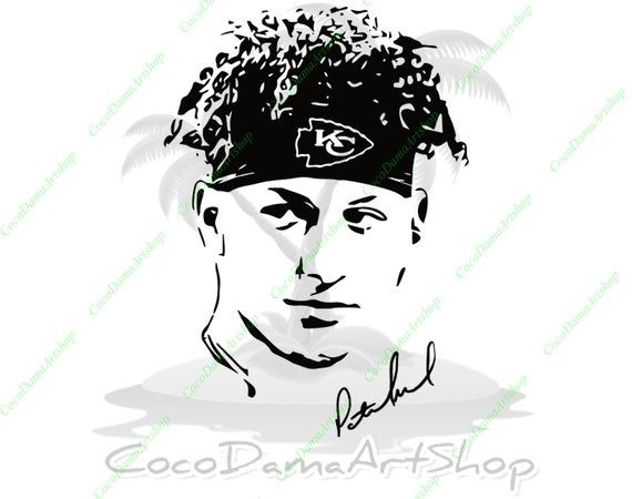 Patrick Mahomes Svg Kansas City Chiefs Svg Chiefs Svg Kc Logo Etsy In 2020 Kansas City Chiefs Svg Instant Download Etsy