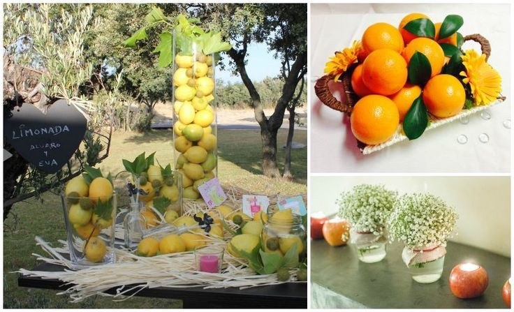 5 ideas para decorar tu boda con frutas