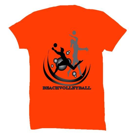 Awesome Tee Beachvolleybal T shirts