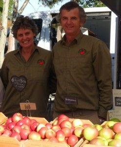 Kalangadoo Apples at Mt gambier farmers market