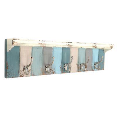 Blue Panels Wall Hook | Kirkland's