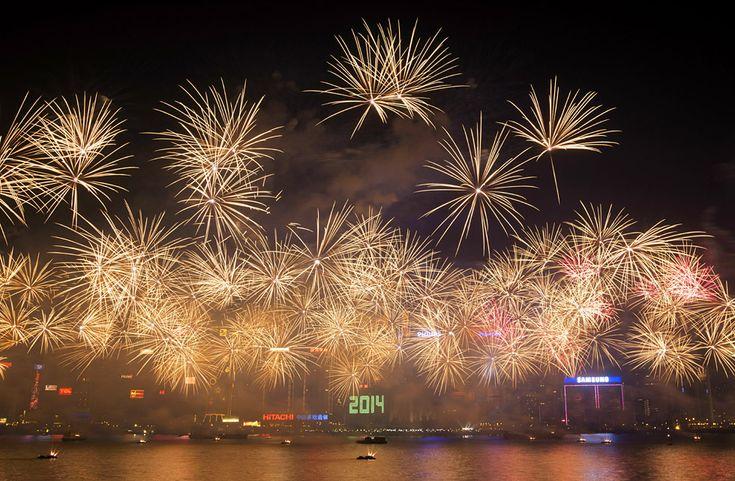 La celebración en Hong Kong. | AFP.