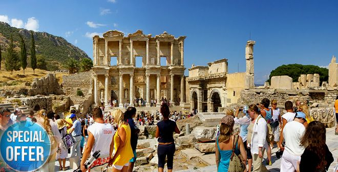 Ephesus Day Tours, Private Ephesus Tours, Ephesus excursions with local guides from Kusadasi, Izmir and Istanbul