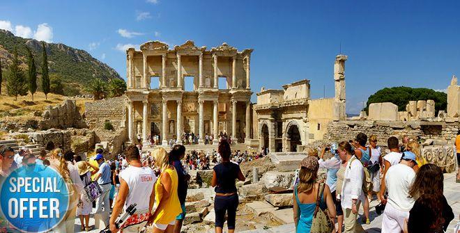 Ephesus Day Tours, Private Ephesus Tours, Ephesus excursions with local guides from Kusadasi, Izmir and Istanbul
