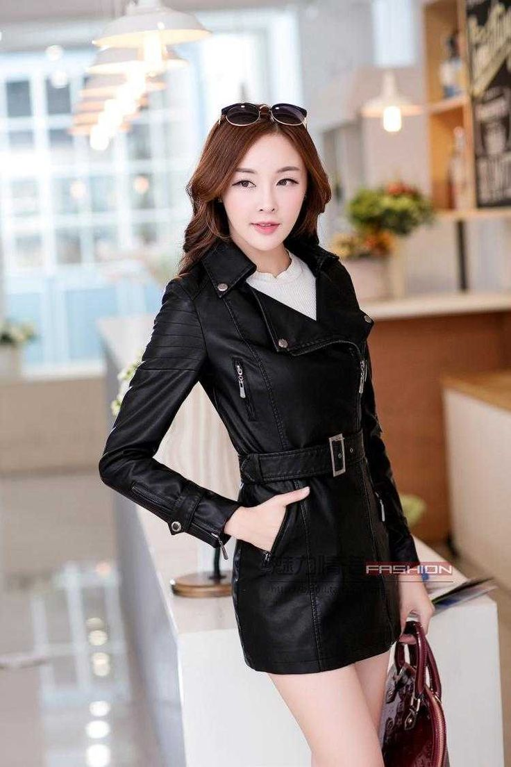 Cheap winter new, Buy Quality coats coats directly from China coat trench coat Suppliers: 2015 Autumn And Winter New Female Long Slim Zipper Leather Coat Lapel Sheep Leather Trench Coat Plus Size 3Xl H3495