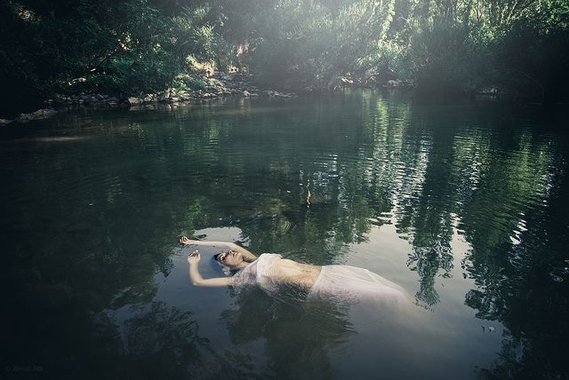 Lady in the water | Flickr - Photo Sharing!